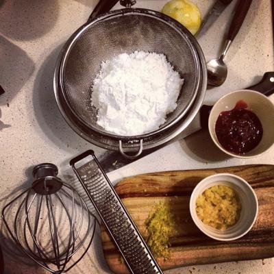 Ginger sponge ingredients