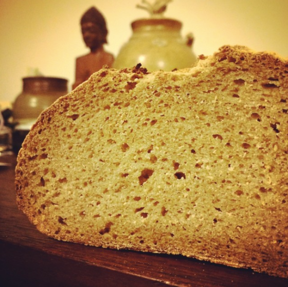 Resurrected sourdough