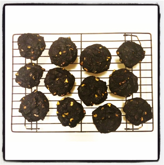 Trick-and-treat cookies