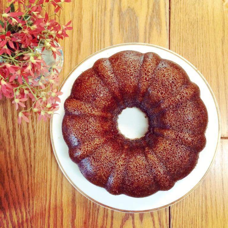 Ginger Porter Cake