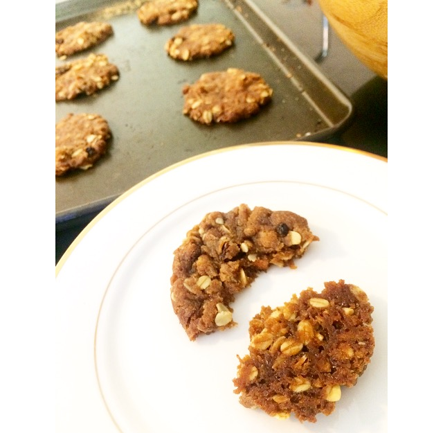 Not-ANZAC biscuits